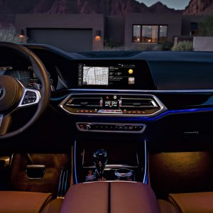 Защитное стекло BMW X5 (G05)