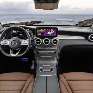 Защитное стекло Mercedes-Benz GLC рест