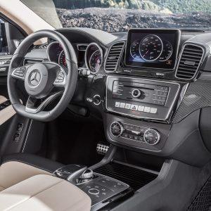 Защитное стекло Mercedes-Benz GLE COUPE C292
