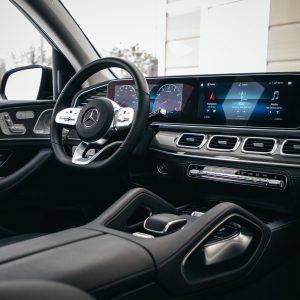 Защитное стекло Mercedes-Benz GLE W167